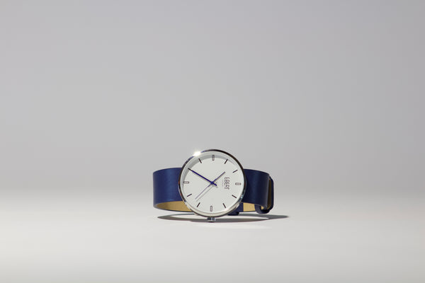 Ebert Watch Navy Blue-authentic.dk