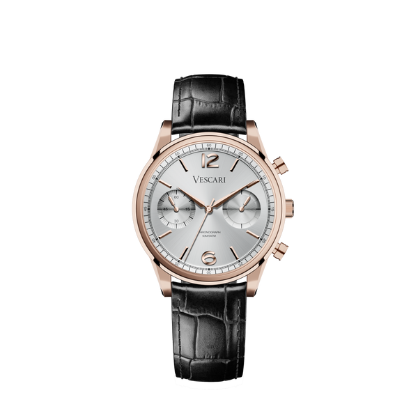 The Chestor Rosegold/Silver - Black-authentic.dk