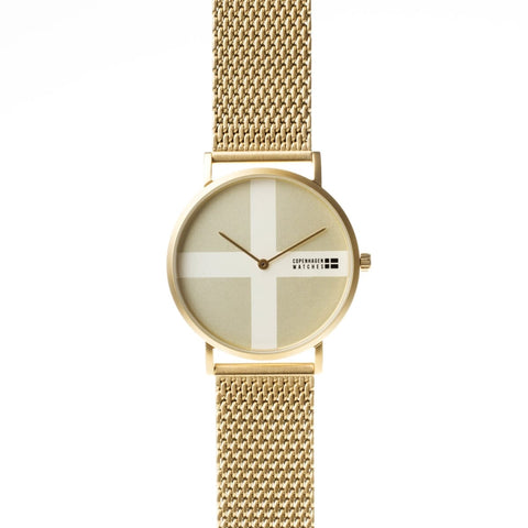 Copenhagen Watches - Classic gold-authentic.dk