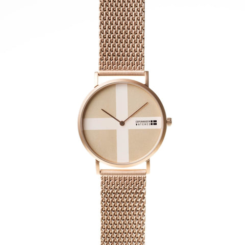 Copenhagen Watches - Classic rosegold-authentic.dk