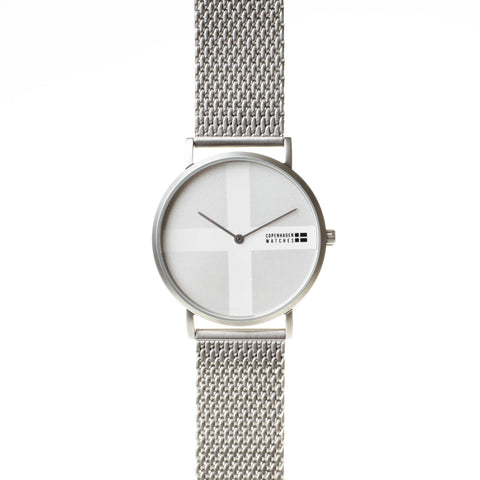Copenhagen Watches - Classic silver-authentic.dk