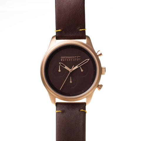 Copenhagen Watches - Sport chrono rosegold-authentic.dk