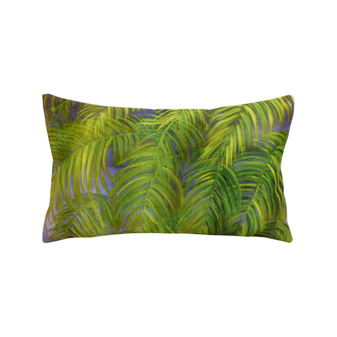 Coussin 30 x 50 Rectangulaire Suédine Déhoussable Jungle
