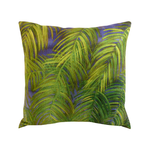 Coussin de sol XXL Carré 95 x 95 Suédine Déhoussable Jungle