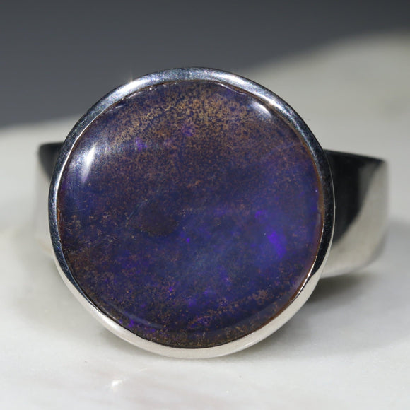 Natural magic silver opal