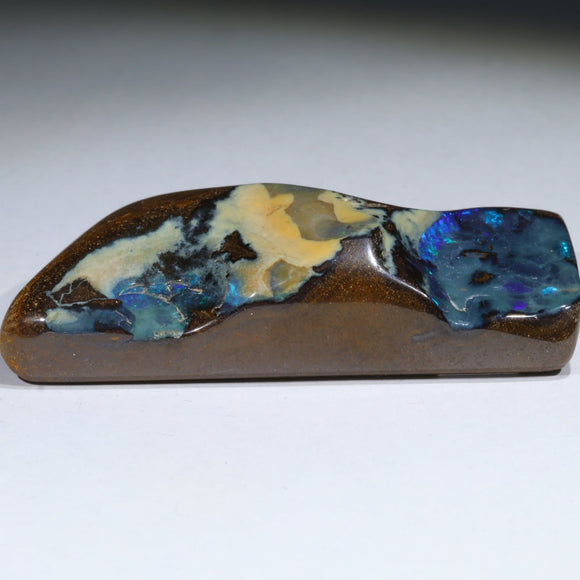Natural Boulder Opal Polished Specimen