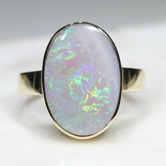 Australian Opal - October -set in Gold - Gold Coast