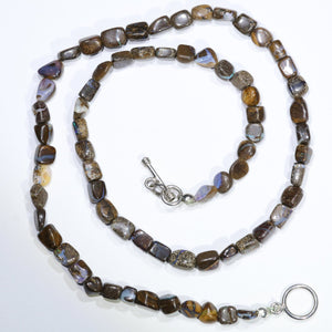 Australian Opal Bead Necklace