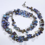 "Boulder Opal Necklace 18"" Long Code-BNJ01"