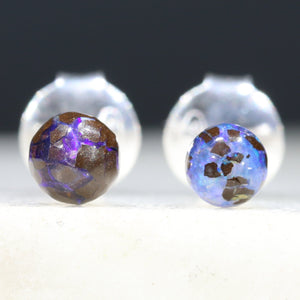 Australian Opal Earrings Natural