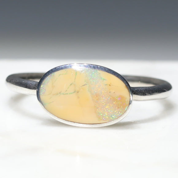 Honey Opal Ring