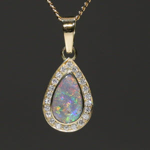 Natural Coober Pedy Solid Opal