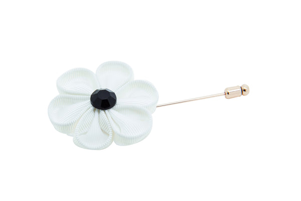 Howard matthews cos stephanie white flower lapel pin stephanie white flower lapel pin ss 2015 mightylinksfo