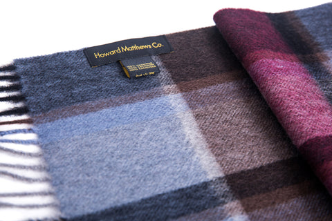 Pierre Cordin 100% Cashmere Scarf by Howard Matthews Co. (F/W 2016 Collection)