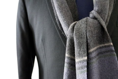 Ralph LaFrentz 100% Cashmere Scarf by Howard Matthews Co. (F/W 2015 Collection)