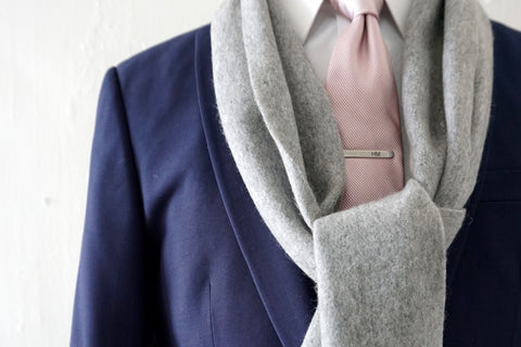 Alexander McQueensville 100% Cashmere Scarf by Howard Matthews Co. (F/W 2015 Collection)