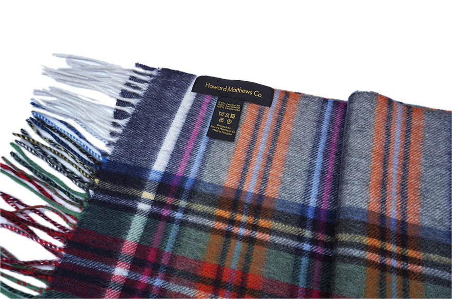 Paul Smithfield 100% Cashmere Scarf by Howard Matthews Co. (F/W 2015 Collection)