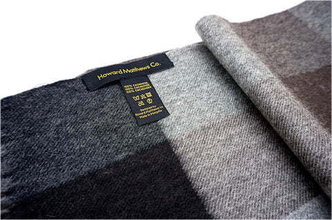 Neil Barretta 100% Cashmere Scarf by Howard Matthews Co. (F/W 2015 Collection)
