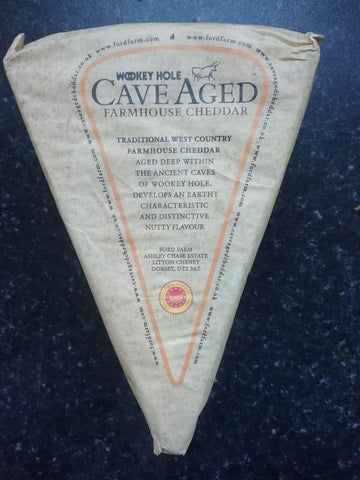 Wookie hole cave aged cheddar