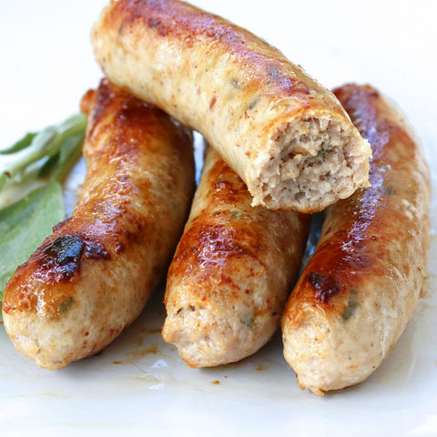 *limited edition* Pork & smoked bacon sausages