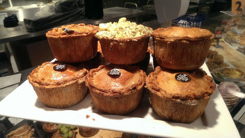 Stilton topped Pork pie