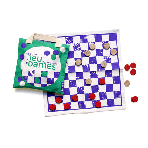 The Super Checkers Game