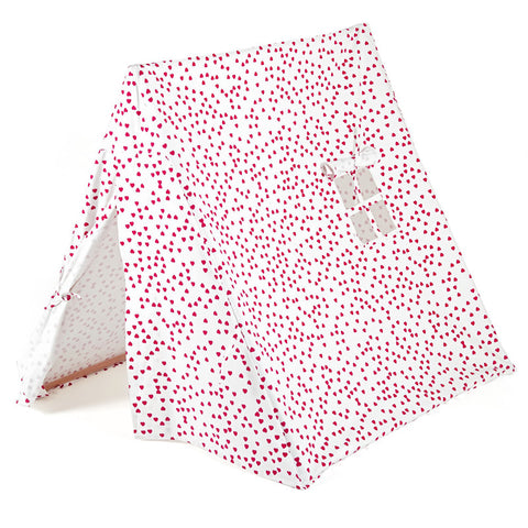The Kids' Tent - Fuchsia hearts