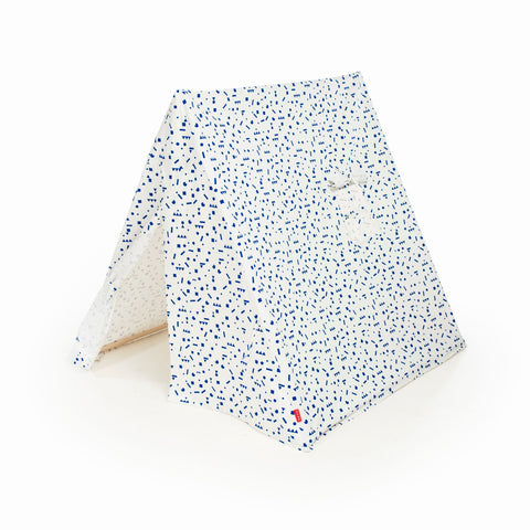 The Kids' Tent - Blue stickers