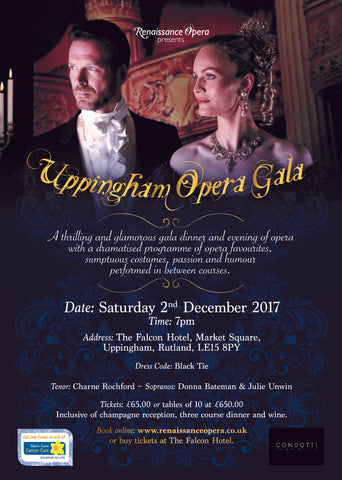 Uppingham Opera Gala - Saturday 2nd December 2017