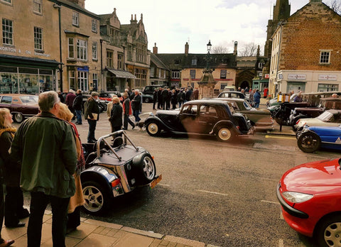 Stilton Cheese Classic Vehicle Run