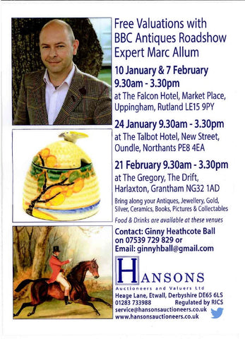 Antiques Valuation January/February 2017