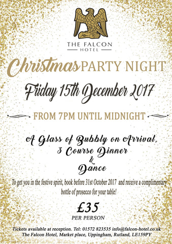 Falcon Christmas Party Night