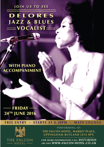 Friday 24th June 2016 - Delores Jazz & Blues Vocalist