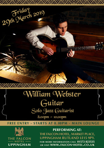 Friday 29th March 2019 - William Webster Guitar
