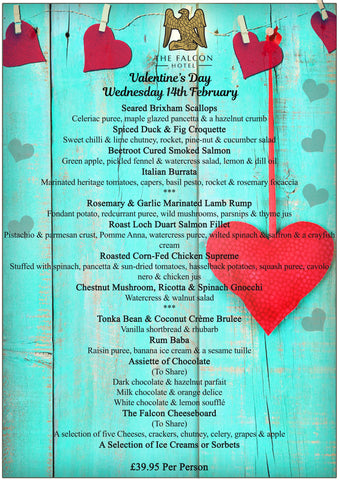 Valentine's Day - Wednesday 14th February 2018