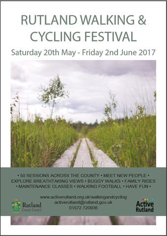 Rutland Walking & Cycle Festival, 20th May - 2nd June 2017