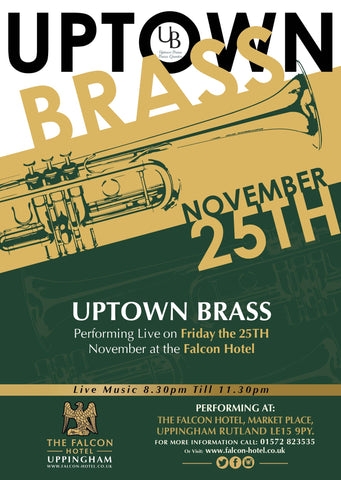 Friday 25th November 2016 - Uptown Brass