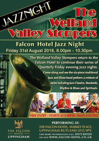 Welland Valley Stompers - Friday 31st August 2018