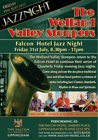 31st July  - Welland Valley Stompers