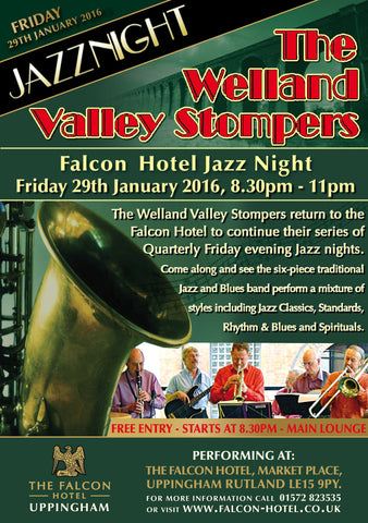Friday 29th January 2016 - Welland Valley Stompers
