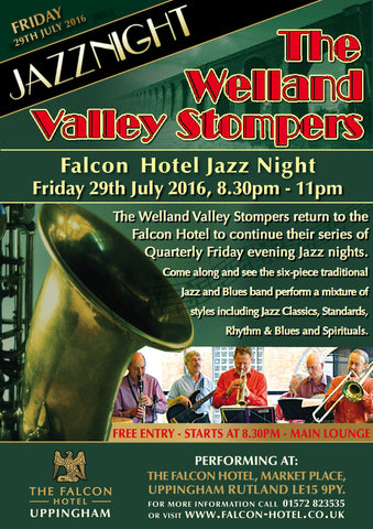 Friday 29th July 2016 - Welland Valley Stompers