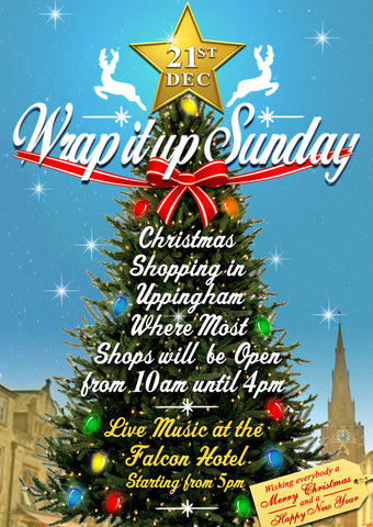 21st December - Wrap it up Sunday