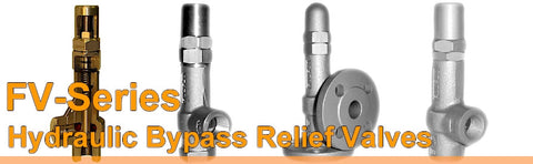 Fulflo By Pass Relief Valves - FVJ Series