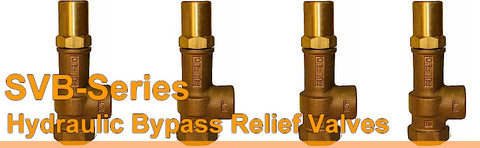 Fulflo By Pass Relief Valve - SVB Series