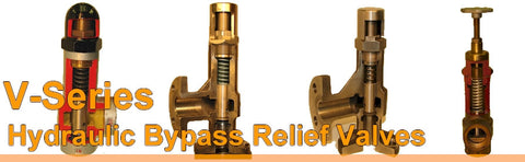 Fulfo By Pass Relief Valve - V Series