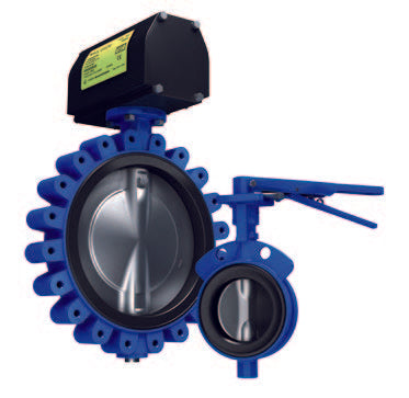 Keystone Series GR Resilient Seated Butterfly Valves GRW/GRL