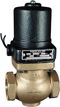 "Type ""D"" - Full Port - Bronze Solenoid Valve - Normally Closed"