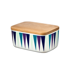 Butter Box, Harlequin, Blue