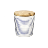 Cup, Linie, large with wooden lid