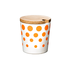 Cup, Revy, large with lid - ORANGE